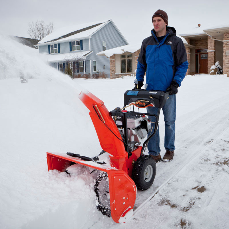 Snow Blower 24 >> Ariens Deluxe Sno-Thro Snowblowers - Marina Inc.